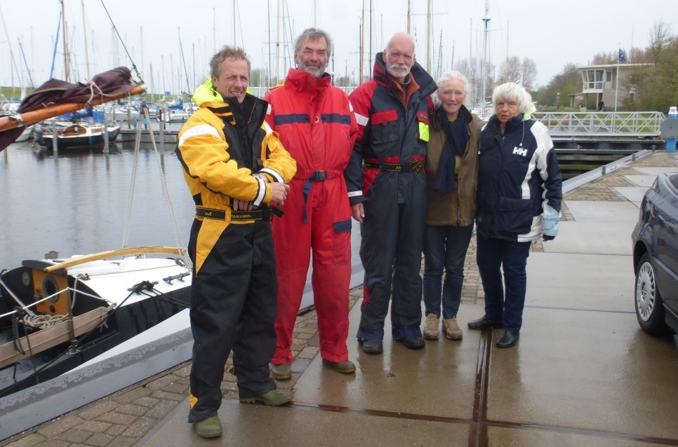 David, Koen, Bert, Janneke, Helene