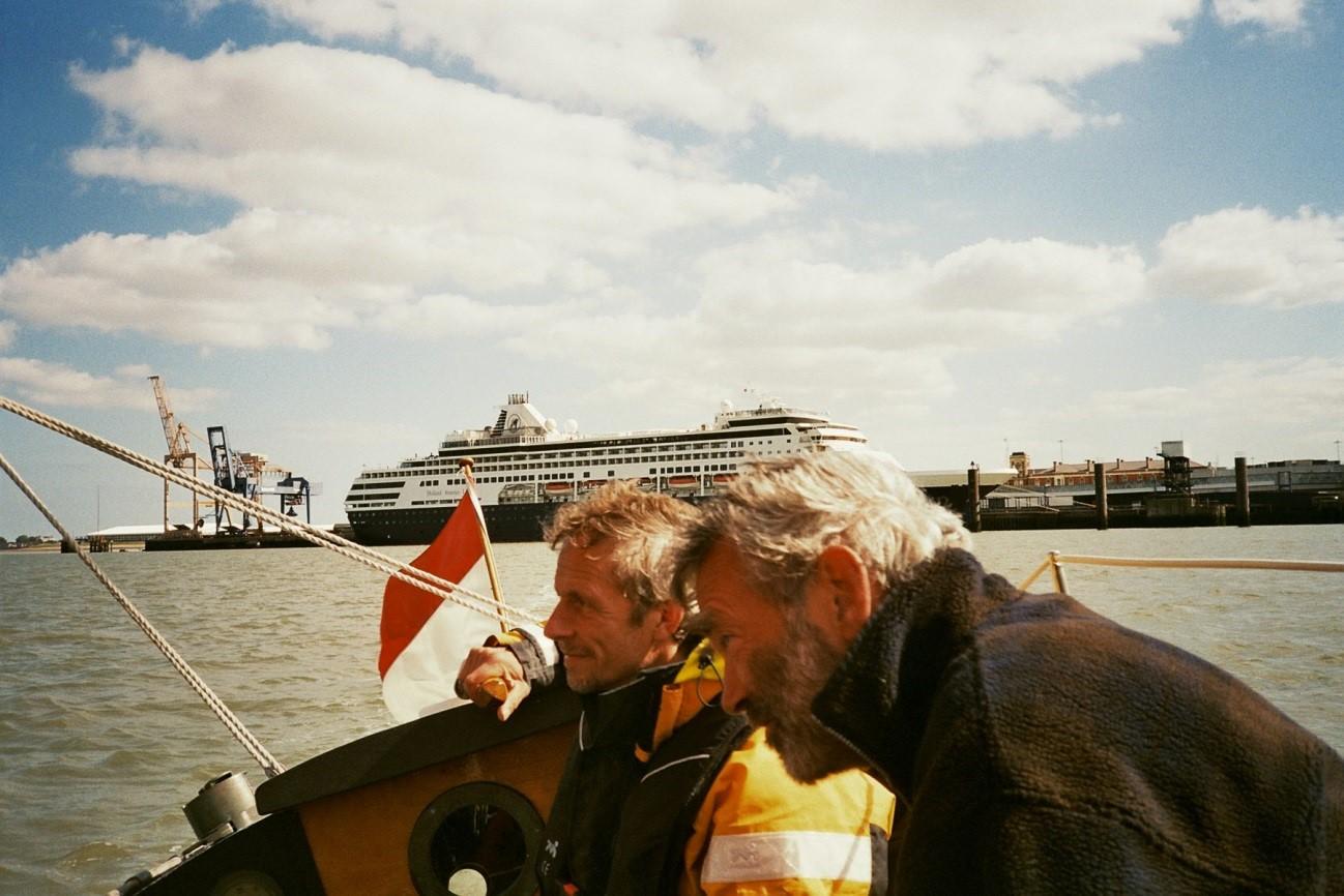 Veerboot HoekvanHolland-Harwich te Harwich