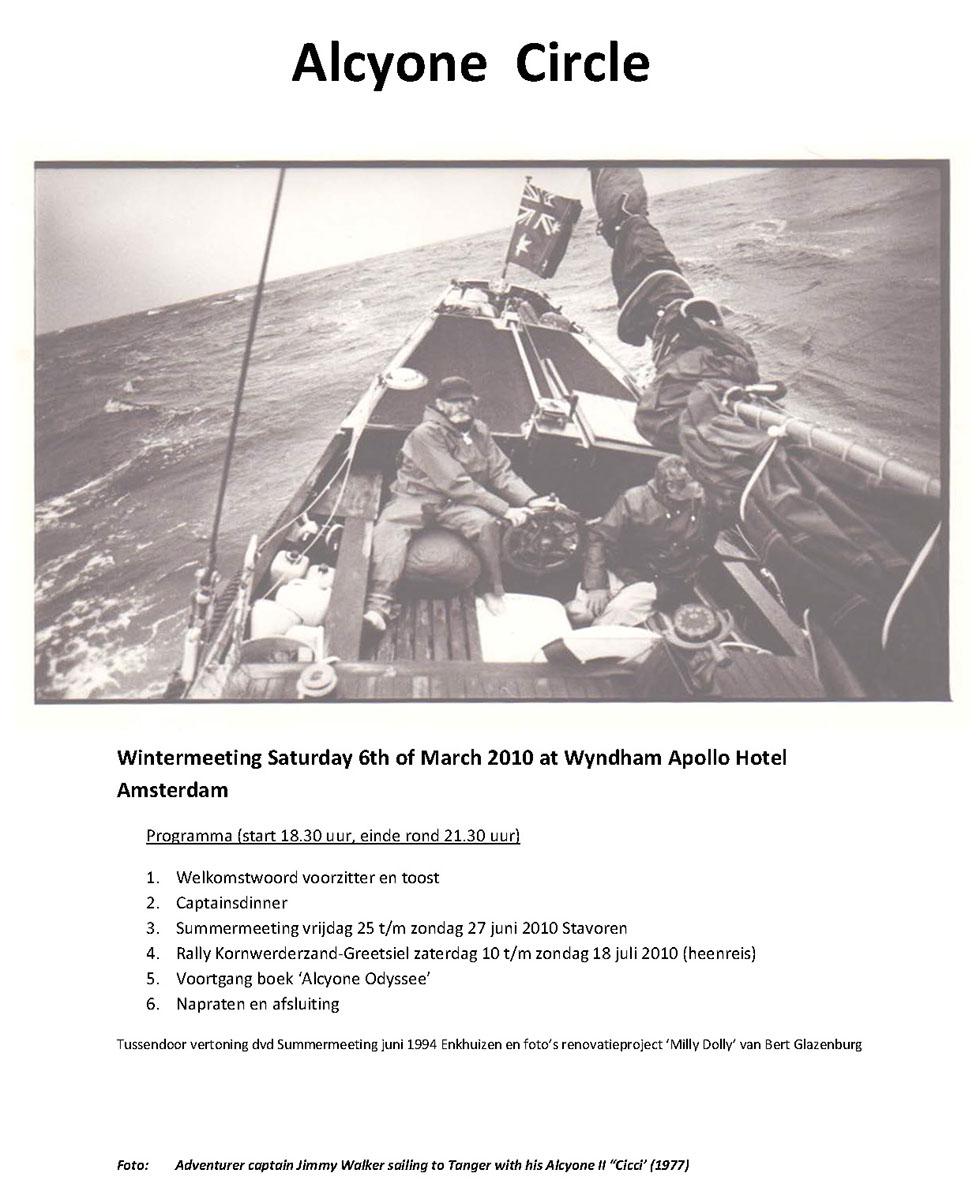 Programme Wintermeeting 6-3-2010