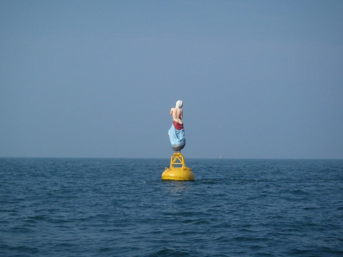 Ergens voor de Vlaamse kust