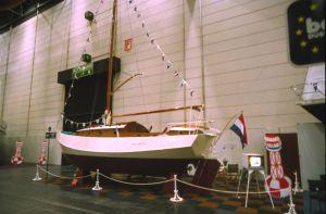 Valentijn Shipyard at HISWA Amsterdam, 1982