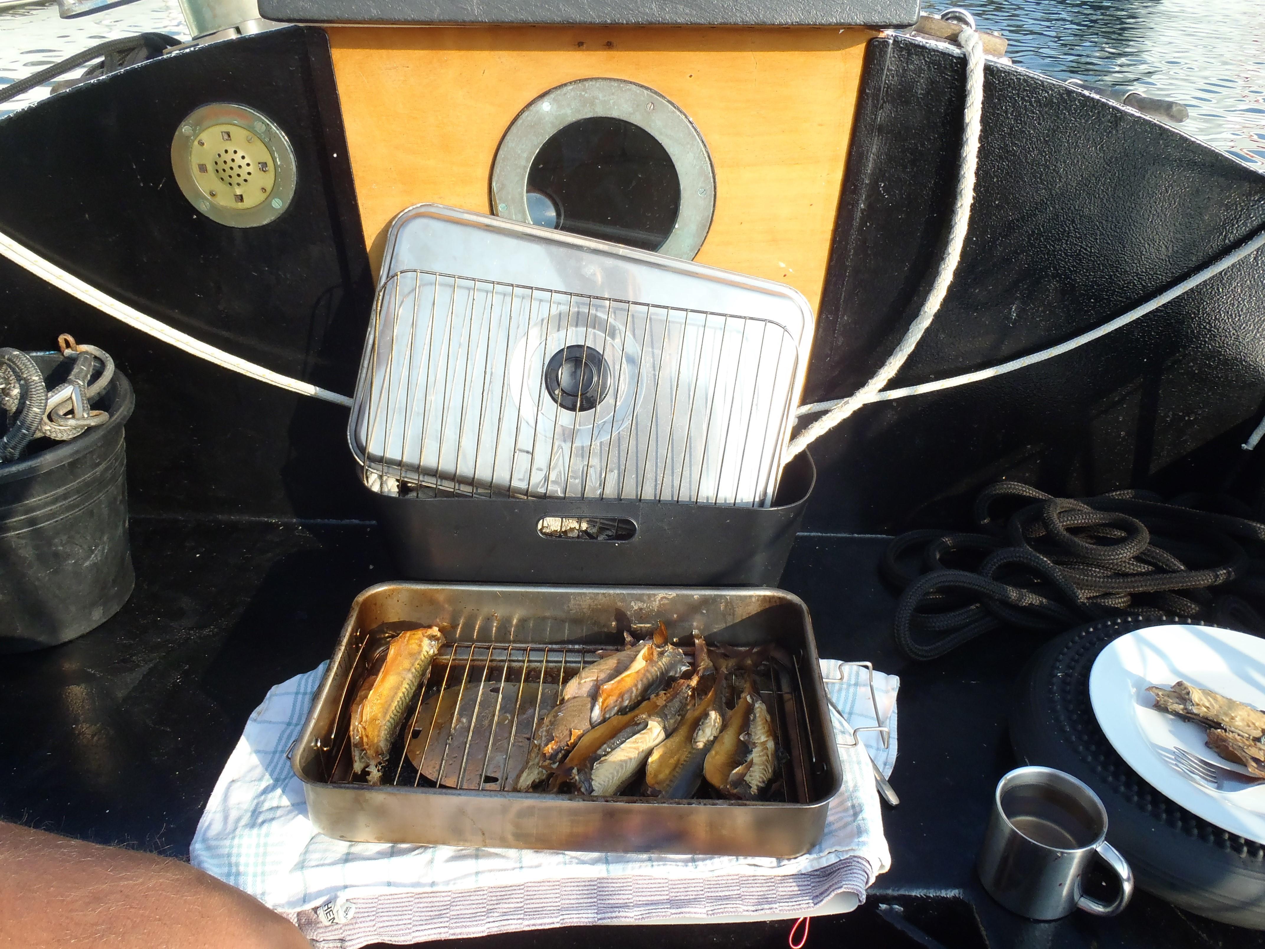Zelfgerookte makreel
